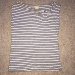 Gray white Michael Kors top. Good condition.